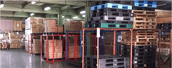 ALFA GROUP PLUSLINE transport アルファグループ プラスライントランスポート works 事業内容 自社倉庫